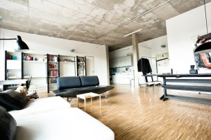 Berlin'deki lüks loft, 3+ kişilik. Gecelik fiyatı 260 TL.