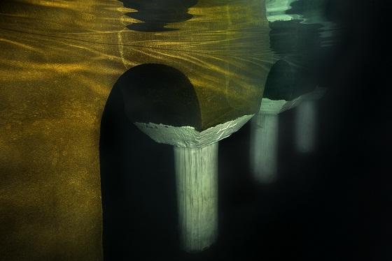 Topkapı Sarayı 3'üncü avludaki sarnıç / Fotoğraf: Saygun Dura / İTÜ Arşivi